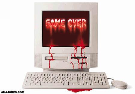 Game Over Sampai Berdarah-Darah