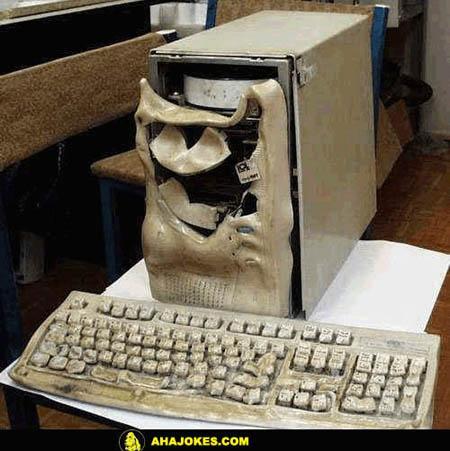 Komputer yang Meleleh