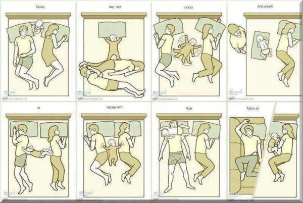 Cara Tidur Orang Tua yang Memiliki Bayi