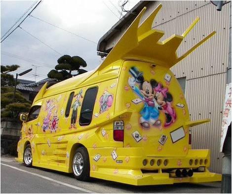 Modifikasi Angkot Jepang | Foto Lucu