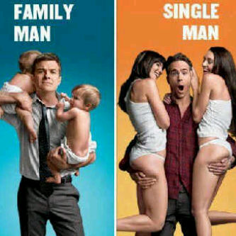 Family Man dan Single Man