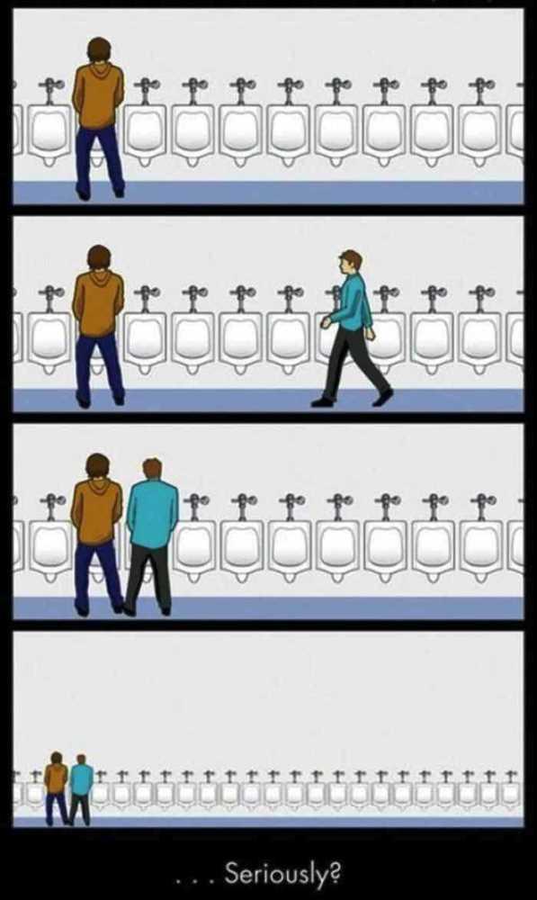 Benci Jika Terjadi di Toilet Pria