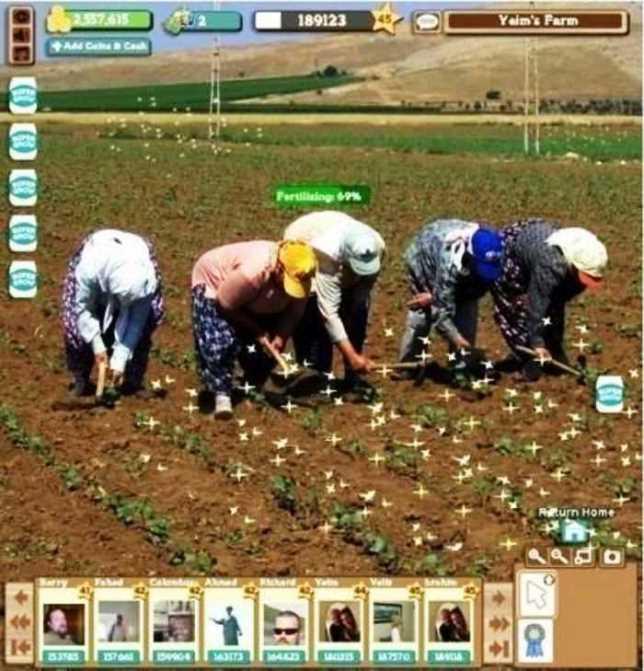 Permainan Farmville Live