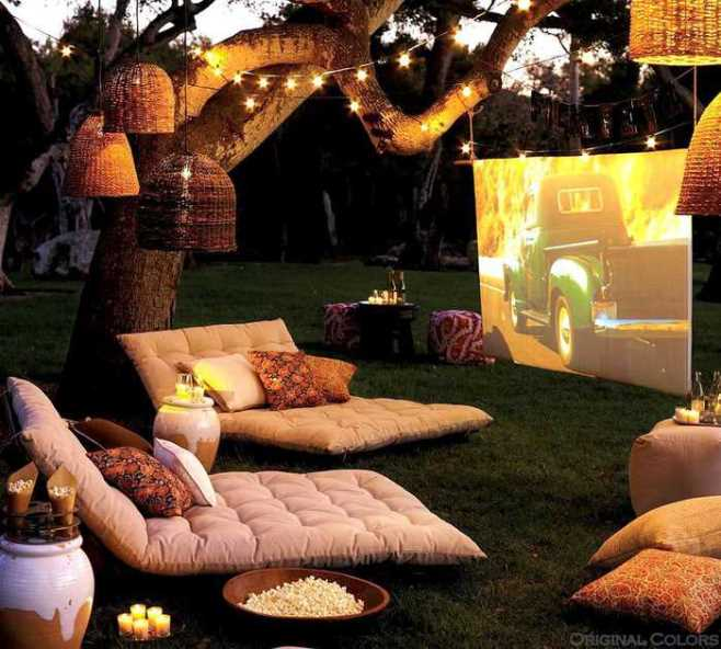 Home Theatre Outdoor