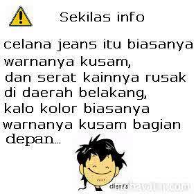 Beda Jeans dan Kolor