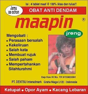 Obat Dendam Maapin