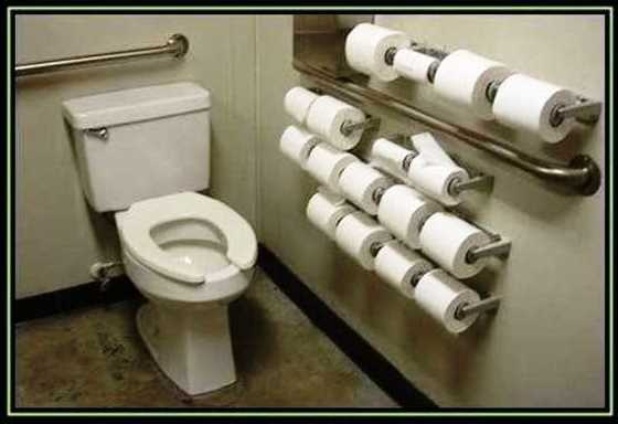 Persiapan peralatan toilet