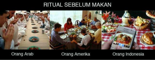 Ritual Makan di berbagai Negara