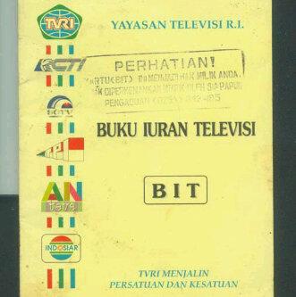 Saatnya Membayar Iuran Televisi