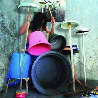 Drum Terbuat Dari Ember