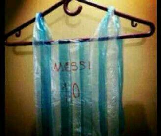 Jersey Argentina Daur Ulang